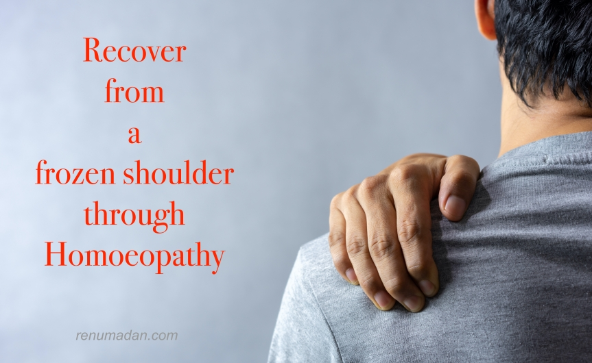 Are you living with a FrozenShoulder?